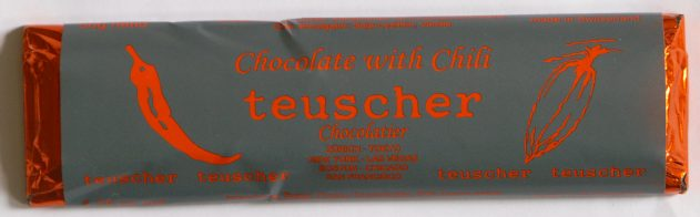 Capsicum frutescens: Chili-flavored chocolate (Teuscher Chocolatier