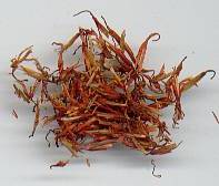 Carthamus tinctorius: Dried safflower