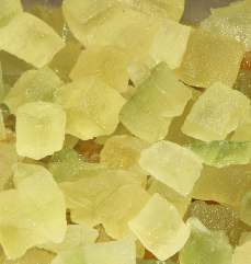Citrus medica: Succade (candied citron)