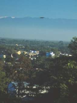 View onto Tezpur