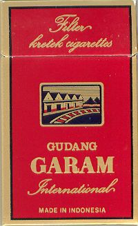 Syzygium aromaticum: Filter Kretek Cigarettes Gudang Garam International